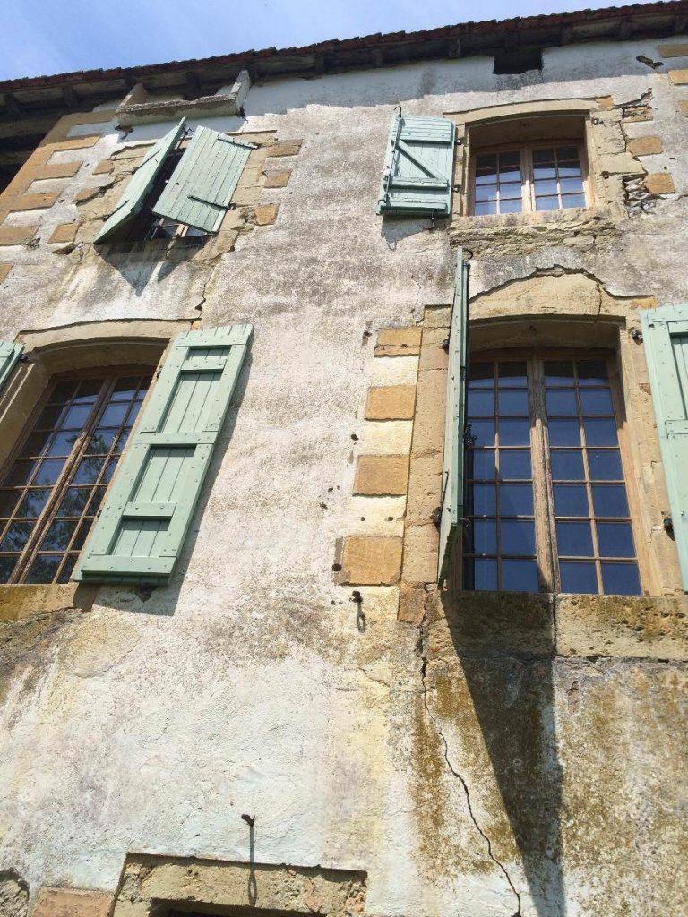 Restauration de bâtiments pierres près de Pampelonne