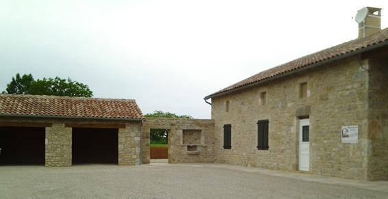Restauration de bâtiments pierres proche de Les Cabannes